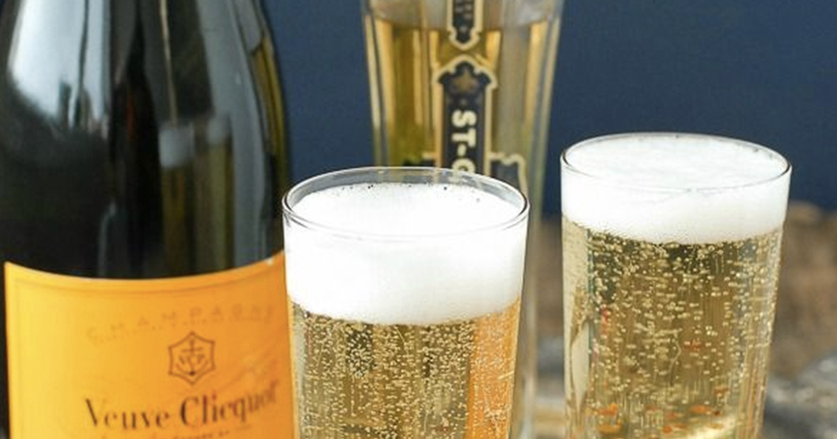 The Genius Trick for Keeping a Bottle of Champagne from Going Flat