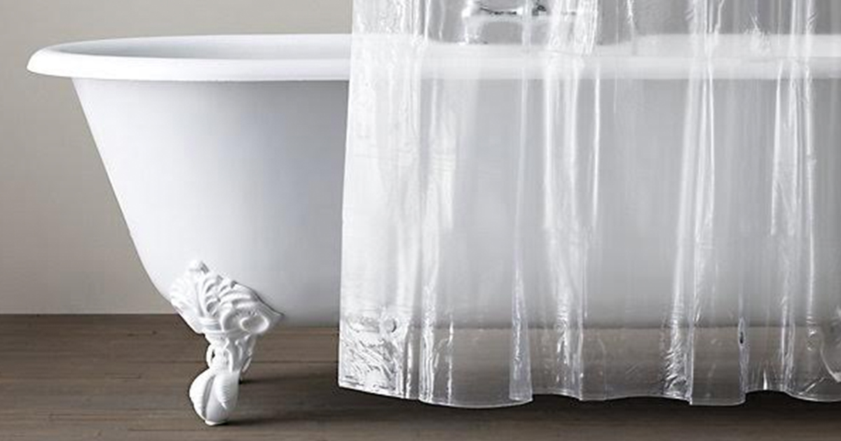 How to Clean a Shower Curtain and Shower Curtain Liner (Because, Ew)