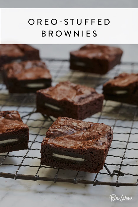 Oreo-Stuffed Brownies