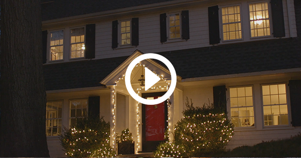 How To Hang Outdoor Christmas Lights.How To Hang Outdoor Christmas Lights Purewow