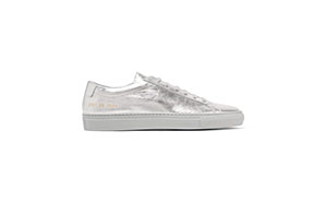 common projects metallic sneakers