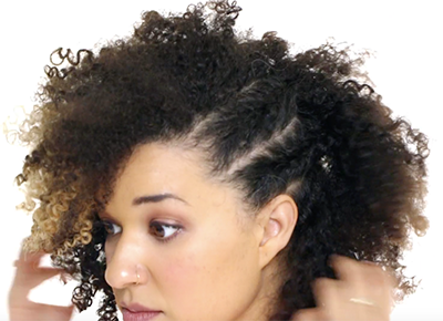 Side Braid Tutorial For Curly Hair Girls Purewow