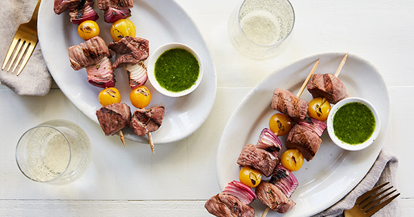Skewers steak recipe fb