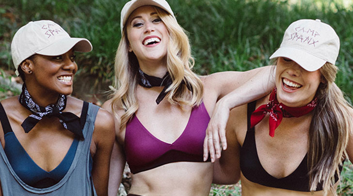 bad5717da4e410 Spanx Just Made a Bralette and It s All We Want to Wear