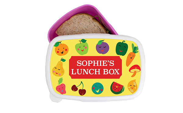 Funky Fruits Kids Lunch Box1