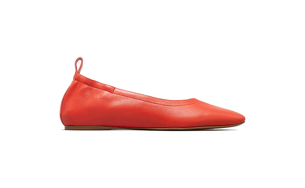everlane red day flat