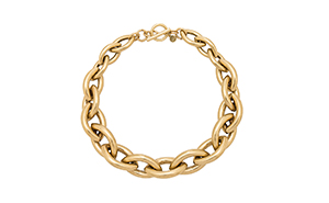 jenny bird gold chain collar