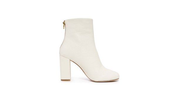 white booties for fall 2017