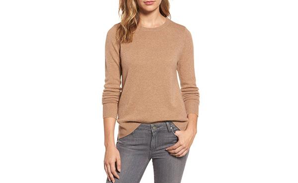 Halogen Crew Sweater   Fall layering