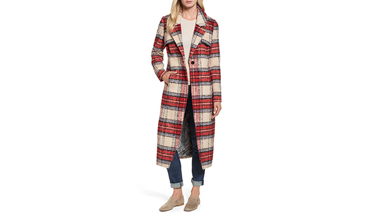 NVLT check coat sat shop