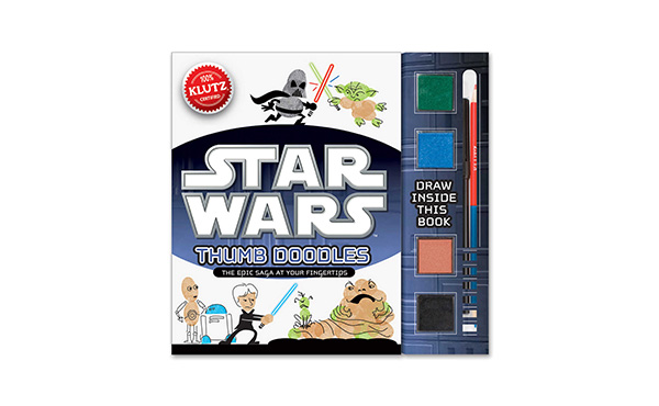 Star Wars Finger Paint Activity Book