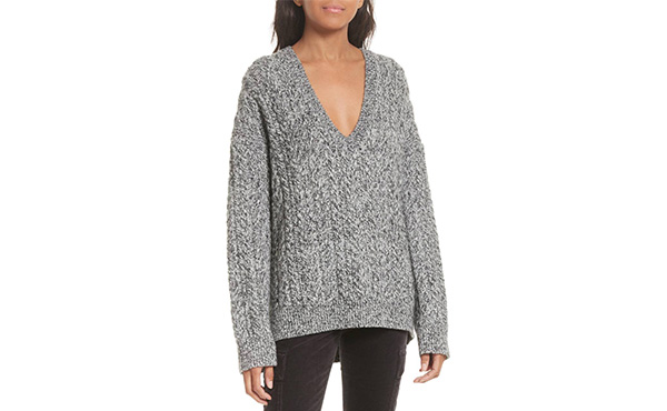 Vince Cable Knit Sweater   Fall Layering