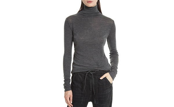 Vince Tissue Turtleneck   Fall Layering1