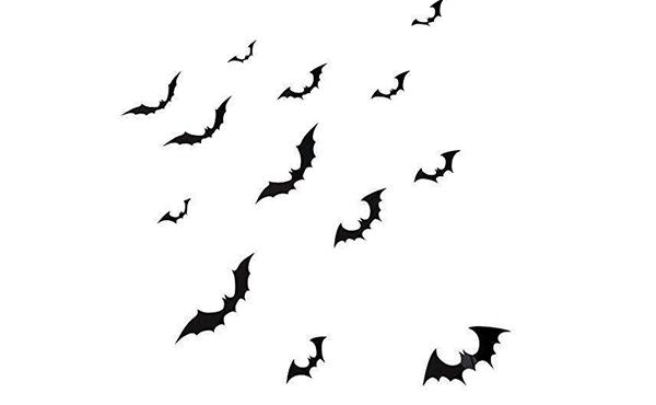 bat wall decal halloween decor