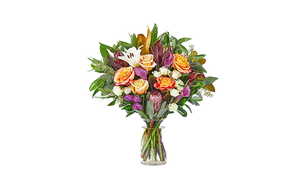 halloween theme flower bouquet