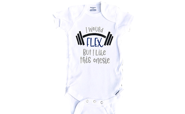 i would flex onesie fam shoppable