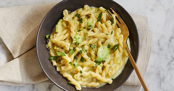 Jalapeño-Avocado Mac and Cheese