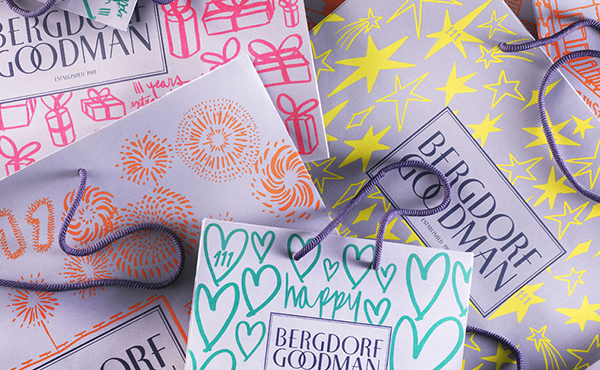 Bergdorf Holiday Shopping Bags