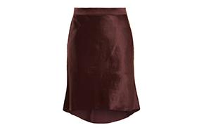 raye silk skirt