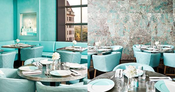 Tiffany   Co. Opens the Blue Box Café in NYC - PureWow e9f9bda45