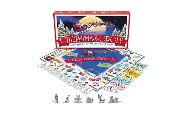 Christmasopoly Family Game
