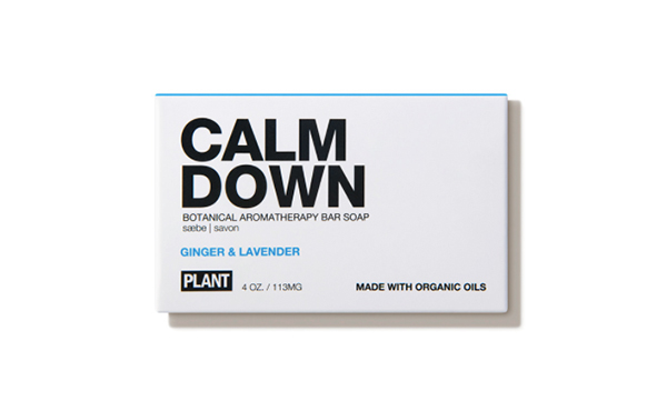 Calm Down Ginger and Lavender Bar Soap