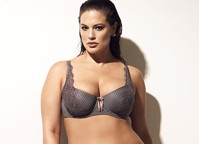 054d41b21f Ashley Graham Released a Sexy Plus-Size Lingerie Collection Just in Time  for Valentines Day