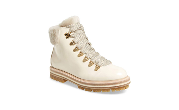 AGL Shearling Snow Boots