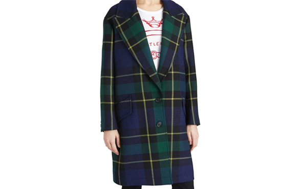 Burberry Tartan Coat