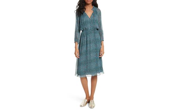 Rebecca Minkoff Florall Midi Dress