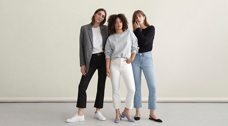 c6ac8e34d4b Everlane s New Kick Crop Jeans Make You Look Taller - PureWow