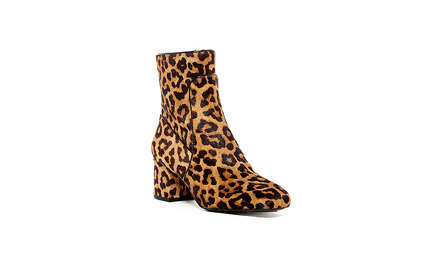 Kenneth Cole Leopard bootie