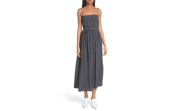 Robert Rodriguez polka dot dress