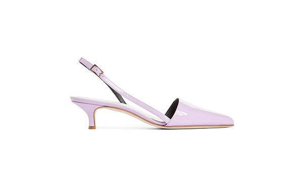 Tibi Lilac Slingback heels