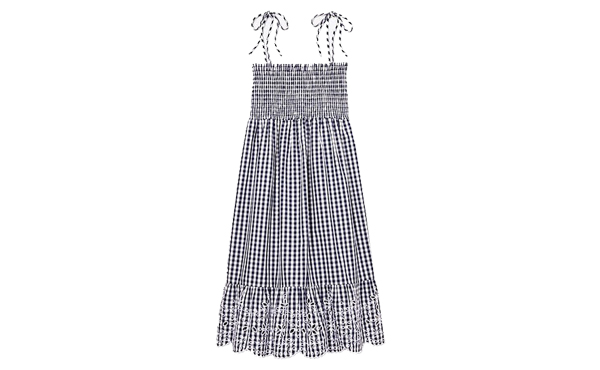 Tory Burch gingham dress