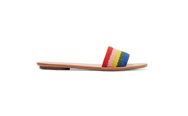 Loeffler Randall rainbow slide