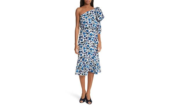 Salone one shoulder dress