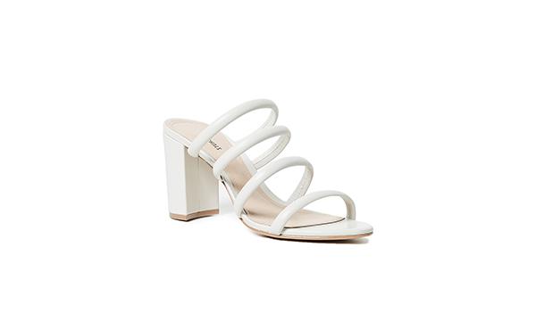 Schutz white sandals