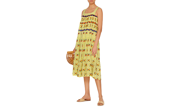 All things mochi embroidered dress