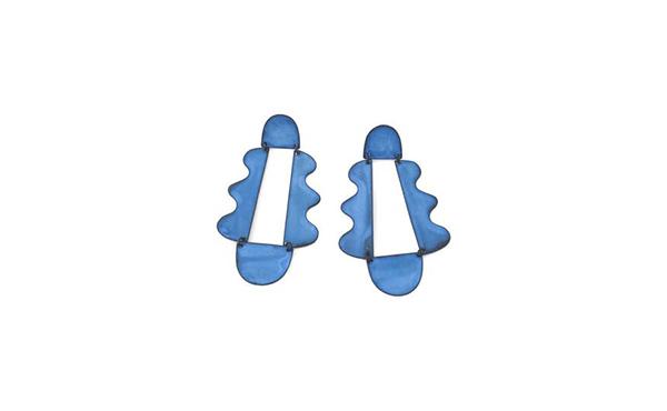 Annie Costello blue earrings
