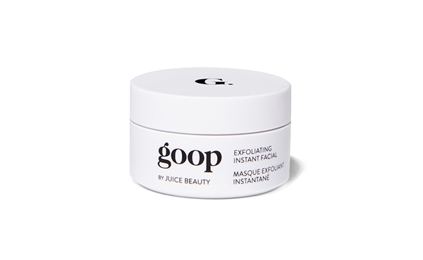 Goop Exfoliating Instant Facial Mask