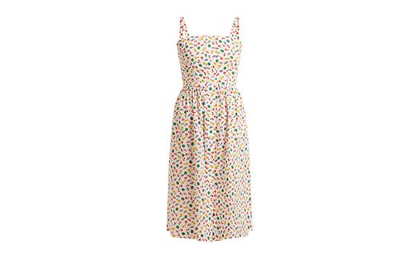 HVN Fruit Print dress
