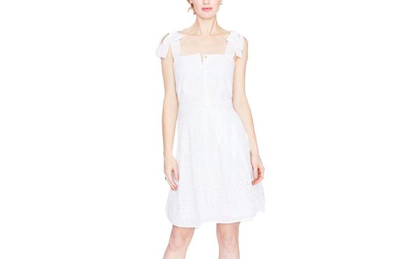 Rachel Roy white eyelet dress