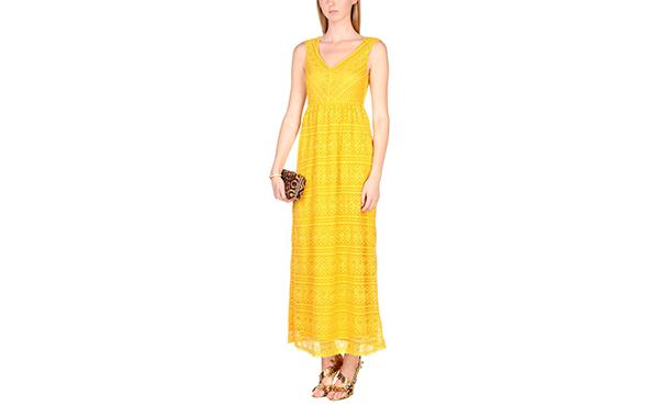 Red Valentino yellow maxi dress
