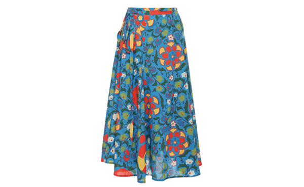 Rhode Resort Dita Floral Skirt