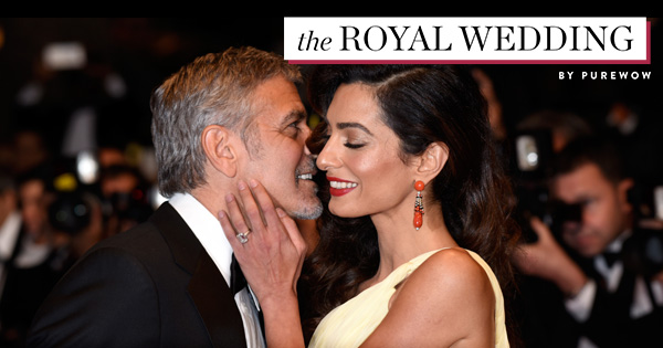 Amal Clooney Royal Wedding.George Amal Clooney Will Attend The Royal Wedding Purewow