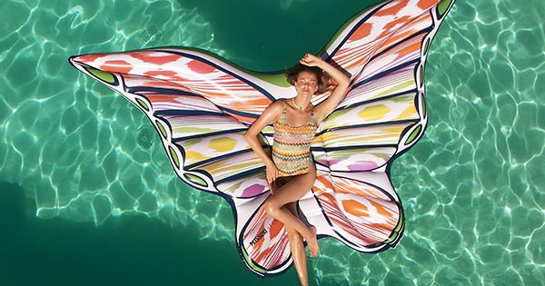 The Most Stylish Pool Float of Summer Has Arrived (Straight From a Famous Italian Fashion Label)