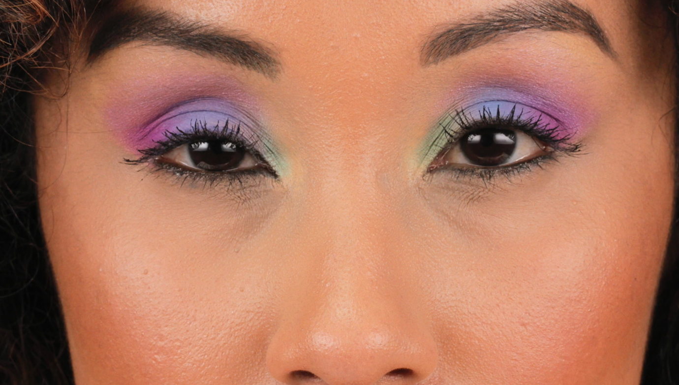 The Cotton Candy Eye Look Blink