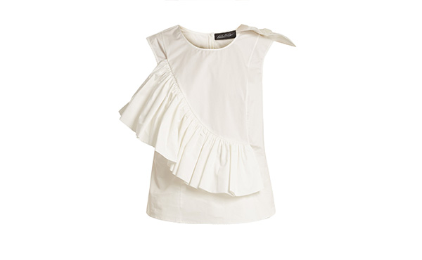 ruffle blouse