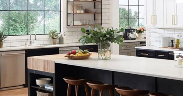 How A Tuxedo Kitchen Could Add $1,547 to the Value of Your Home